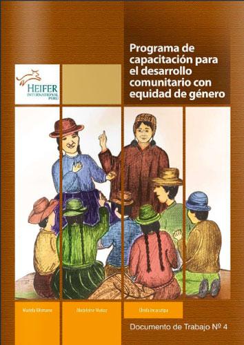 Programa de Capacitación para el Desarrollo Comunitario con Equidad de Género