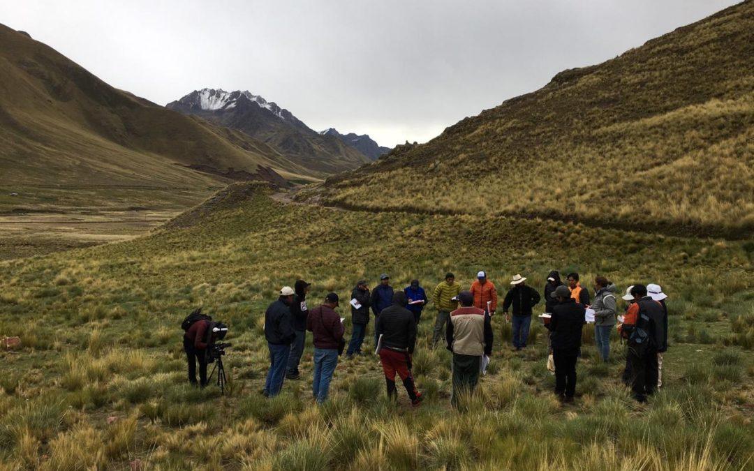 IC Manejo Holístico Regenerativo de Praderas Naturales, Cusco 2019