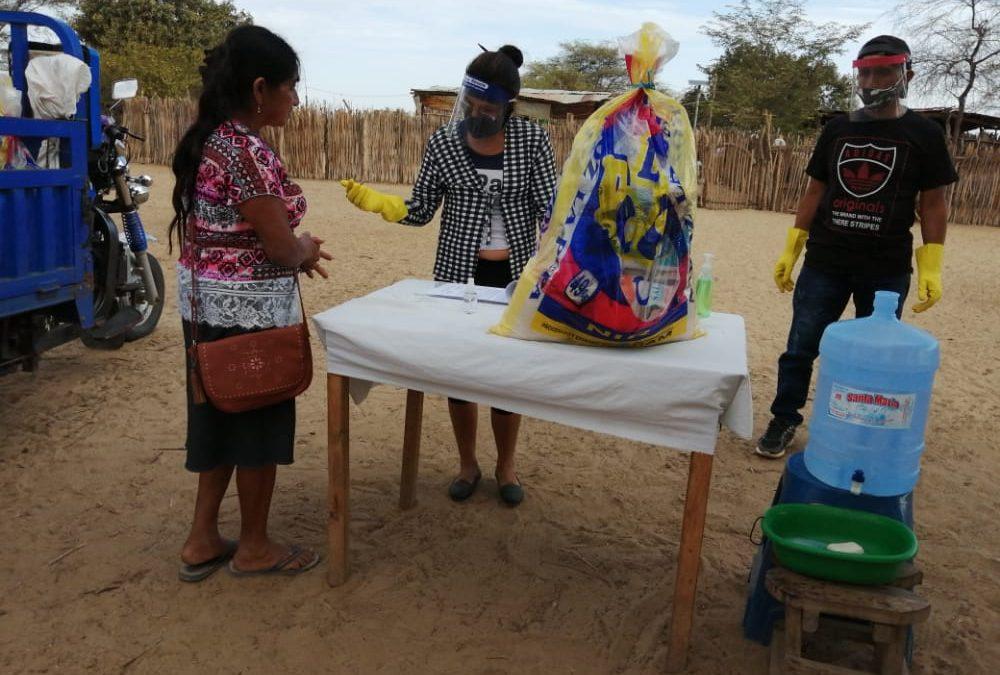 PIURA: SOLIDARIDAD CON FAMILIAS RURALES AFECTADAS POR EL Covid19